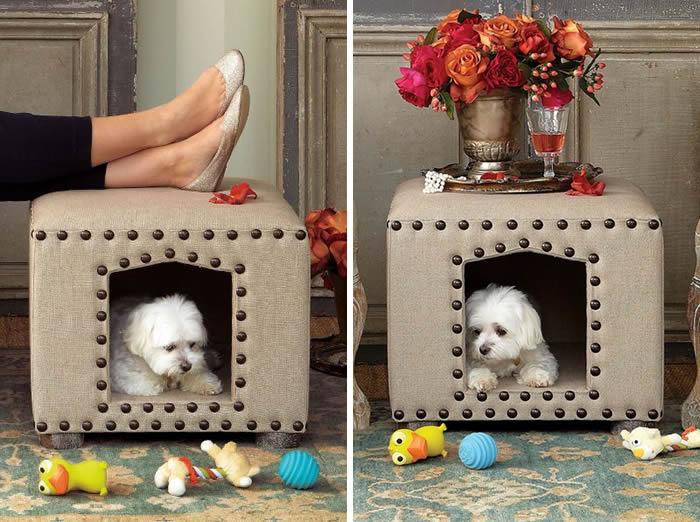 modelos-de-cama-para-cachorro-puff-reaproveitado