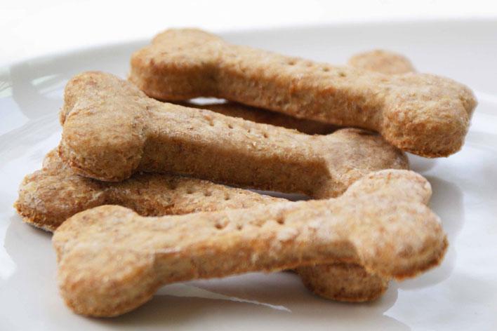 Biscoitos caseiros para cachorro